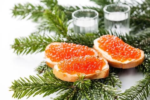 Năm mới ở Nga nhất định không thể thiếu những món ăn này - 3