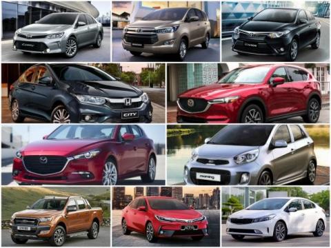 10 mẫu ô tô bán chạy nhất Việt Nam tháng 12/2017 - 1