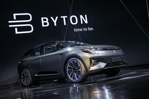 Crossover Byton độc đáo có giá 1 tỷ đồng - 1