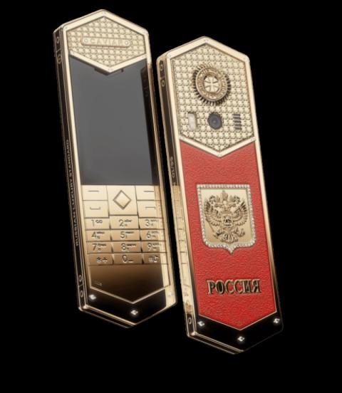 Siêu điện thoại Tsar-Phone giá 691 triệu đồng dịp Tổng thống Putin nhậm chức - 1