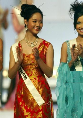 mai phuong - hoa hau viet nam dau tien vao top 15 the gioi, tai xuat sau 16 nam - 1
