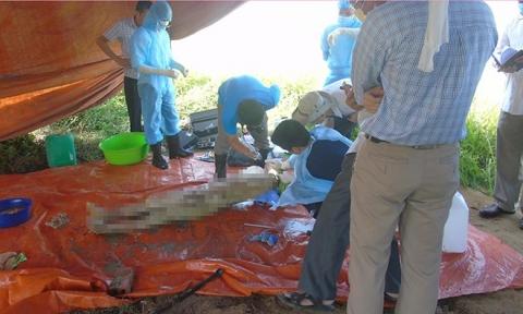 Vụ khai quật thi thể nữ kế toán: Ngày đưa tang tờ rơi người lạ rải đầy đường
