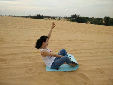 Sảng khoái với trải nghiệm trượt cát ở Mũi Né - 8