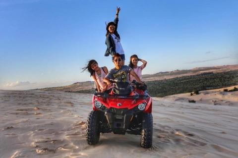 Sảng khoái với trải nghiệm trượt cát ở Mũi Né - 10