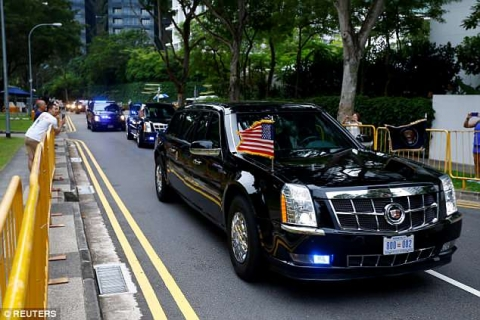 Siêu xe chống đạn 2 triệu USD của Kim Jong-un có gì đặc biệt? - 4