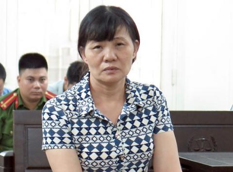 Bị cáo Trần Thị Sáu nhận mức án chung thân sau 22 năm trốn chạy. Ảnh: TL