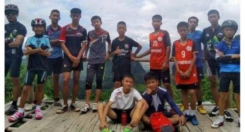 Giải cứu đội bóng Thái Lan: Một cậu bé đang gặp vấn đề sức khỏe - 2
