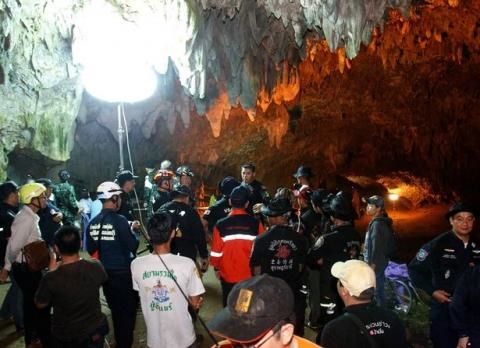 Toàn cảnh chiến dịch gian khổ giải cứu 13 thành viên đội bóng Thái Lan - 1