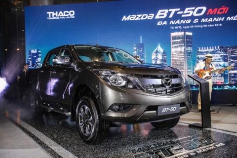 Mazda BT-50 2018 ra mắt với nhiều nâng cấp mới kèm giá bán từ 655 triệu đồng - 1