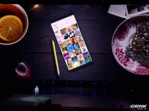 Samsung Galaxy Note9 chính thức ra mắt: cấu hình khủng nhất thị trường, S-Pen nhiều chức năng mới, camera thêm AI, giá cao nhất 1250 USD