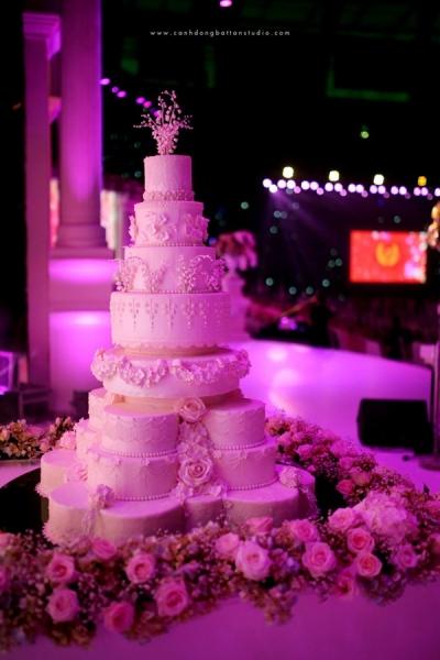 Choáng ngợp với đám cưới 10 tỷ ở Đà Nẵng: Chú rể lái siêu xe lên sân khấu, mời cả ca sĩ hạng A đến góp vui-5