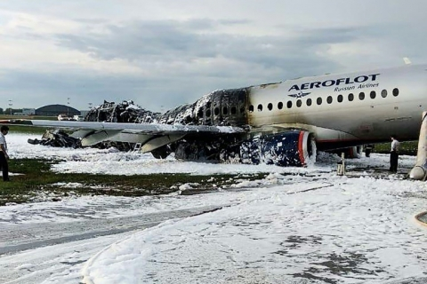 Vụ cháy máy bay Nga nhiều khả năng do lỗi phi công