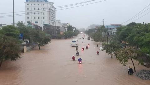 Trận mưa lớn khủng khiếp ở Thái Nguyên lập kỷ lục trong 30 năm trở lại đây - 1