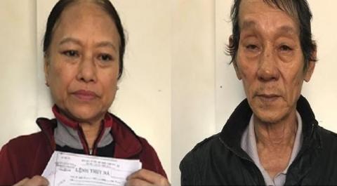 Bắt cặp vợ chồng thay tên đổi họ trốn nã suốt 24 năm