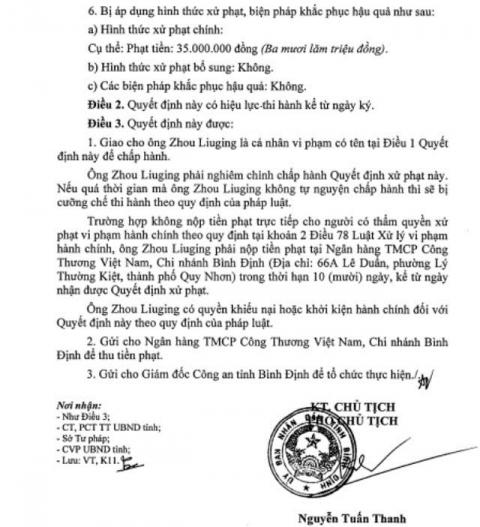 Phạt 4 người Trung Quốc liên quan đến đường dây sản xuất ma túy - Ảnh 1.
