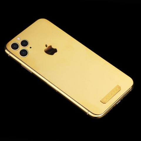xuat hien iphone 11 pro dat vang 18k cho cac tay choi hinh anh 1