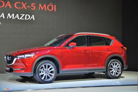 Loat xe Mazda, Nissan ha gia 100 trieu dong o Viet Nam hinh anh 1 10_cx5_zing.jpg