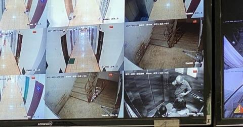 'Hú hồn' 6 người bị kẹt trong thang máy tại Chung cư 71 Nguyễn Chí Thanh