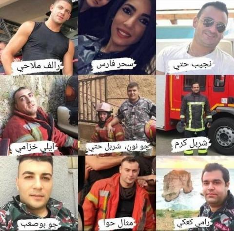 Lebanon: Nhói lòng hình ảnh 3 lính cứu hỏa phá khoá xông vào tử địa - 1