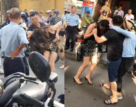 Vụ chồng chở bồ nhí trên Lexus LX 570 bị vợ lao vào đánh ghen: Công an vào cuộc điều tra Ảnh 1