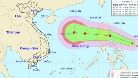 Áp thấp nhiệt đới khả năng mạnh thành bão hướng vào miền Trung, miền Bắc đón không khí lạnh tăng cường, nền nhiệt giảm sâu - Ảnh 1.