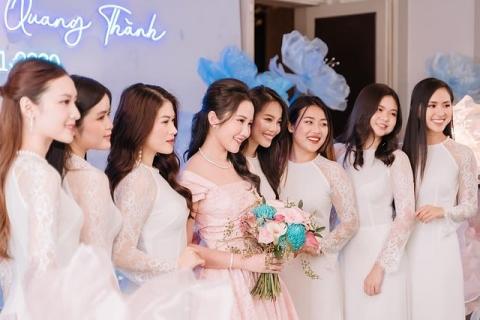 Primmy Trương hé lộ dàn phù dâu xinh đẹp như hoa.