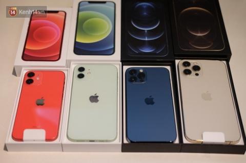 2 màu hot của iPhone 12 Pro Max bản VN/A bắt đầu về hàng 'dồi dào' tại các đại lý sau thời gian khan hiếm - 1