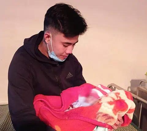 Xót xa bé gái sơ sinh bị bỏ rơi ven đường giữa đêm lạnh 10 độ C