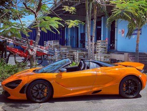 Đại gia Vũng Tàu bí ẩn chi tiền tỷ sắm McLaren 720S Spider thứ 7 tại Việt Nam - 5