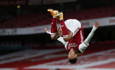Hung thần Aubameyang bùng nổ, Arsenal thắng giòn giã Newcastle - Ảnh 3.