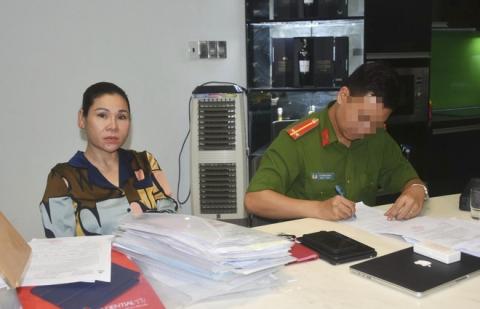 Nữ đại gia Vũng Tàu, vợ của một diễn viên có tiếng bị bắt - Ảnh 1.