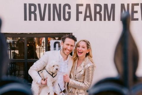 Jen cười rạng rỡ trong ngày cưới (Ảnh: Washington Post)