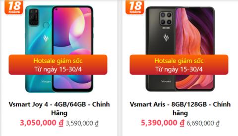 Giá điện thoại Vsmart bốc hơi cả triệu, iPhone 12 Pro Max khó bỏ qua trong dịp lễ - Ảnh 1.