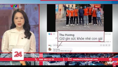 Cô gái tình nguyện lên tâm dịch Bắc Giang: Lá thư gửi bố mẹ và lời hồi đáp rơi nước mắt - Ảnh 2.