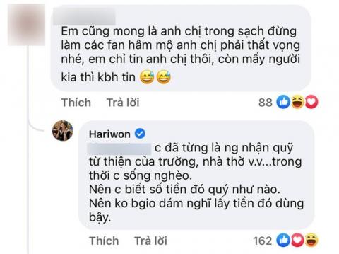 Trấn Thành công khai sao kê vẫn chưa yên ổn, Hari Won liền bộc lộ cảm xúc chỉ qua 3 từ - Ảnh 3.