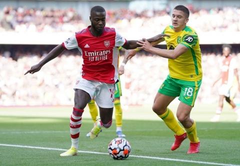 Arsenal 1-0 Norwich: Aubameyang ghi bàn duy nhất, Pháo Thủ tìm thấy ánh sáng cuối đường hầm - Ảnh 3.