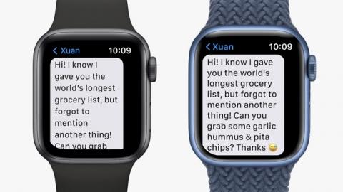 Chi tiết Apple Watch Series 7: Có 5 màu sắc, giá bán từ 199 USD - Ảnh 1.