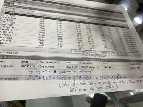 Vụ nữ nhân viên trộm hơn 2.300 nhẫn vàng tại Bình Phước: Tổng số tiền lên đến gần 10 tỷ, tương đương 1 tiệm vàng cỡ nhỏ - Ảnh 2.