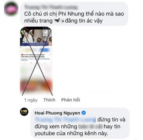 Phẫn nộ tin giả Việt Hương ngã quỵ bên linh cữu Phi Nhung tràn lan trên MXH, ông xã Hoài Phương lên tiếng - Ảnh 1.