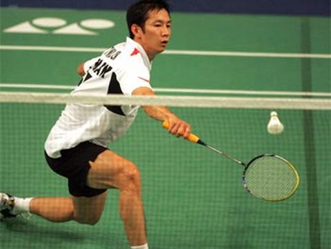 Giải cầu lông Malaysia mở rộng 2012: Tiến Minh ngược dòng thành công