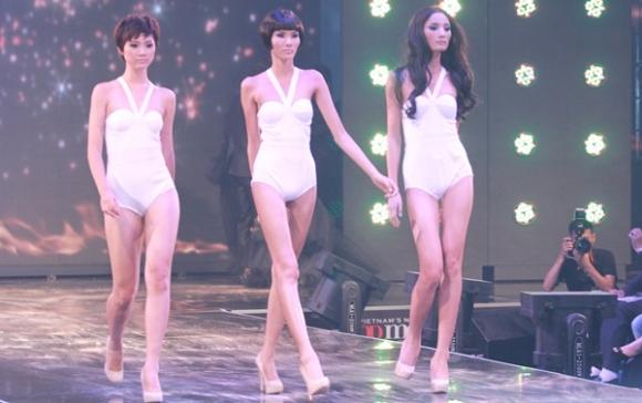 Hoàng Thùy đăng quang Viet Nam Next Top Model 2011