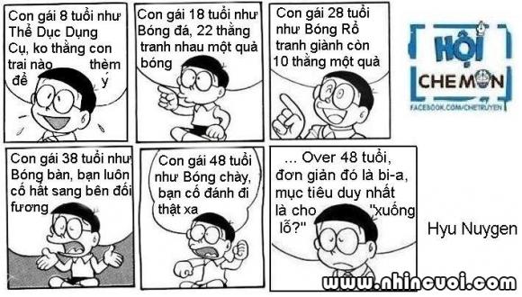 Đôrêmon chế (P40): Nhà phụ nữ học Nobita