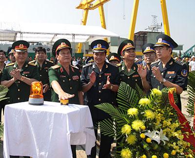 Hạ thủy tàu cảnh sát biển lớn nhất Việt Nam