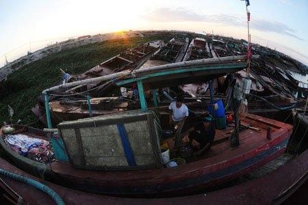 Toàn cảnh những thiệt hại do cơn bão số 8 gây ra