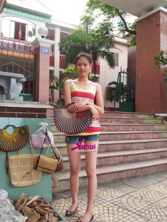 Quán quân VNNTMD 2012: Mai Giang lộ ảnh 'chân chất'