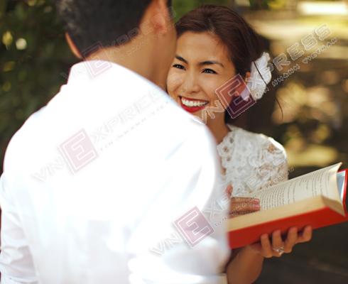 Cô đã tổ chức hôn lễ tại Philippines vào ngày 4/11 vừa qua.