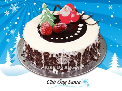 Những chiếc bánh kem 'độc' cho Giáng sinh