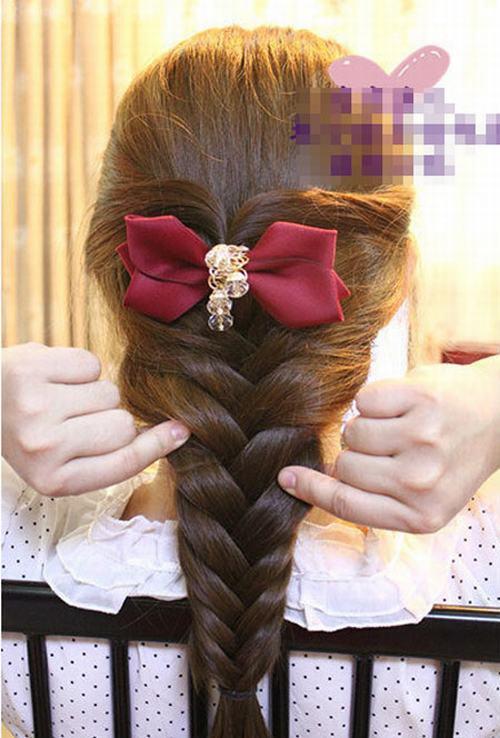 'Đổi gió' với tóc tết như kiều nữ Phạm Băng Băng
