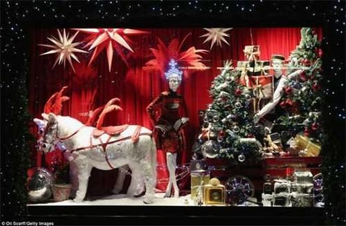 Không khí Giáng sinh bao trùm London