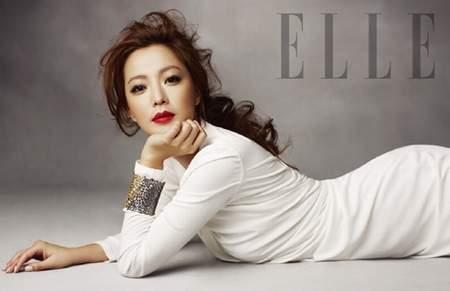 'Đệ nhất mỹ nhân' Hàn Quốc quyến rũ trên ELLE